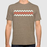 Ikat Mens Fitted Tee Tri-Coffee SMALL