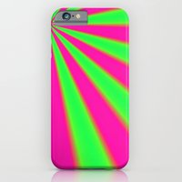 iPhone & iPod Case featuring Pink and Green fractal by Christy Leigh