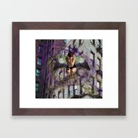 Urban Study Framed Art Print