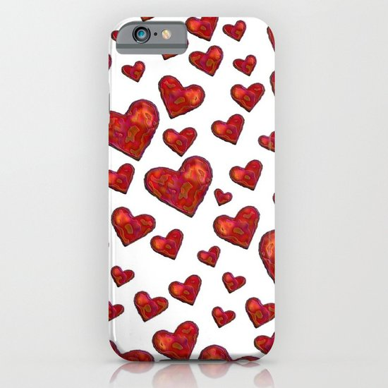 Hearts Motif iPhone & iPod Case