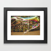 To Be Young Framed Art Print