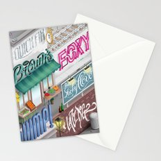 City Pangrams Stationery Cards