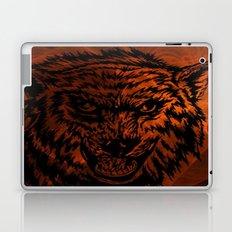 angry wolf fire Laptop & iPad Skin