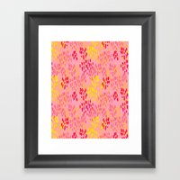 Picnic Pals Paint In Str… Framed Art Print
