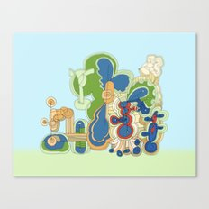 Abstract Drawing 9509 Canvas Print