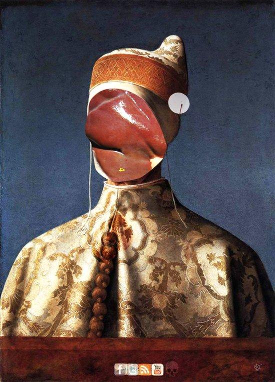 Meat Giovanni Bellini Art Print