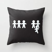 Breaking Free Throw Pillow