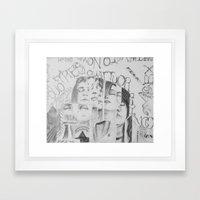 Teenagers Pt.2 Framed Art Print