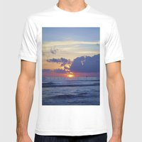 The Utopia Mens Fitted Tee White SMALL