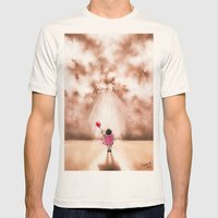 WINDS OF CHANGE  Mens Fitted Tee Natural SMALL