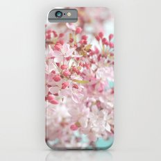 Pink Cherry Blossom Slim Case iPhone 6s