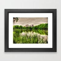 New York Central Park Framed Art Print