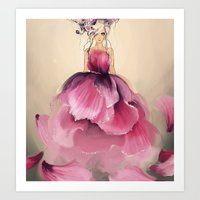 Paeonia Art Print