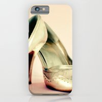 iPhone & iPod Case featuring I love my gold shoes 1 by Hilary Upton