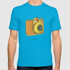 So Analog Mens Fitted Tee Teal SMALL
