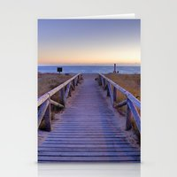 The Path..., The Beach..… Stationery Cards