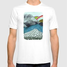 Landscapes / Nr. 4 Mens Fitted Tee White SMALL