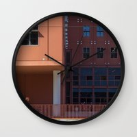 Woman In Red Wall Clock