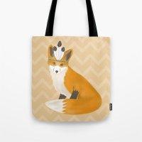 Be Brave - Fox Native Tote Bag