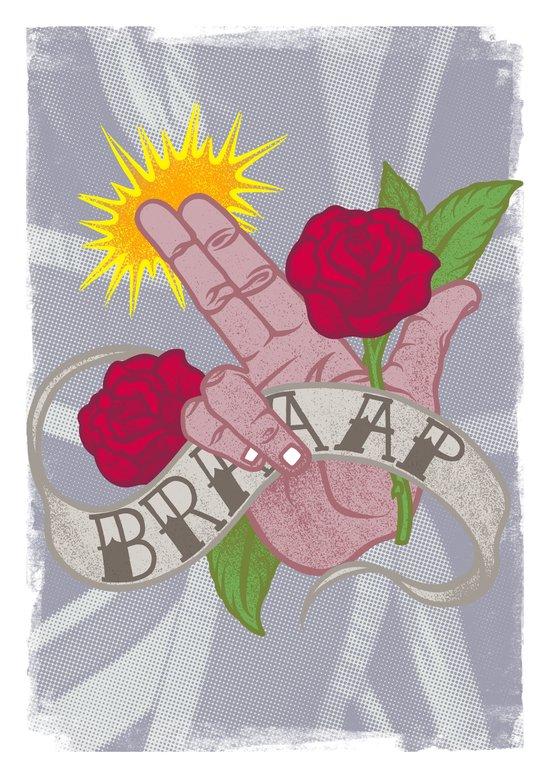 Brrrrrrrap! Art Print