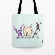 Ahh! Real Plushies Tote Bag