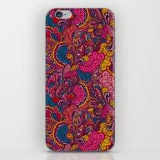 Carnival doily pattern iPhone & iPod Skin