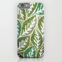 iPhone & iPod Case featuring Leaves 3 by Melanie Schumacher