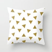 Triangle Party Throw Pillow