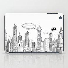 Gotham City Skyline iPad Case