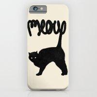 iPhone & iPod Case featuring Meow by Speakerine / Florent Bodart