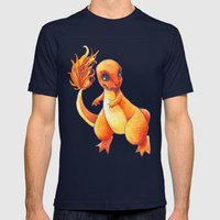 Little Charming Salamand… Mens Fitted Tee Navy SMALL