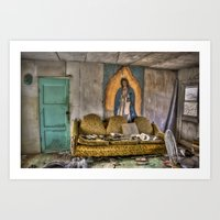 Someone To Look Over Me Art Print