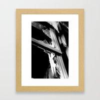 broken hearts Framed Art Print