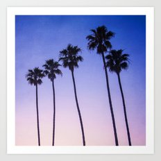 Palm Trees 3 Art Print