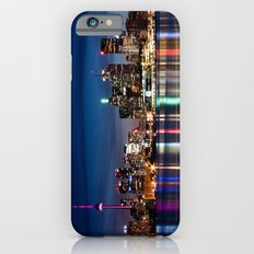 Toronto Skyline At Night From Polson St No 2 iPhone 6 Slim Case