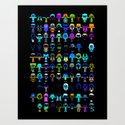 THE ULTIMATE 'AVENGER'S' ROBOTIC COLLECTION Art Print
