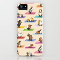 The Yoguineas Collection… iPhone (5, 5s) Slim Case