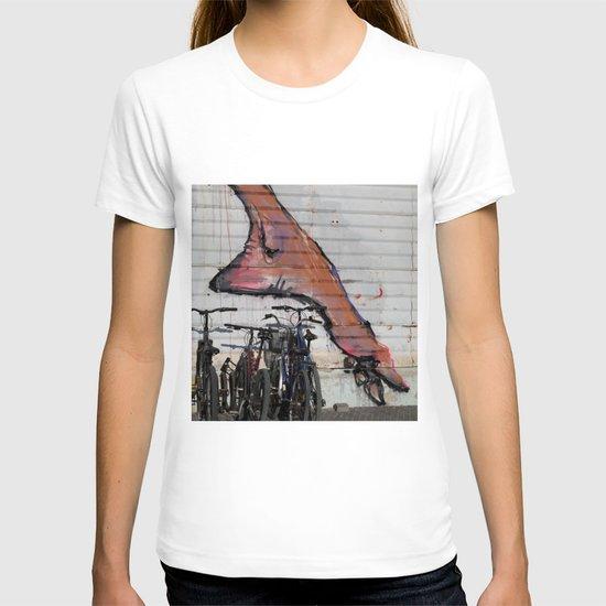 foot print T-shirt