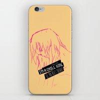 Chill Girl iPhone & iPod Skin