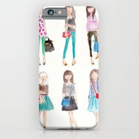 iPhone & iPod Case featuring Collage by Sophie & Lili