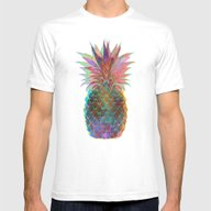 Pineapple Express Mens Fitted Tee White SMALL