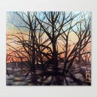 Golden Rays 1 Canvas Print