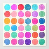Colorplay 8 Canvas Print