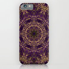Purple Mandala Hippie Pattern iPhone 6 Slim Case