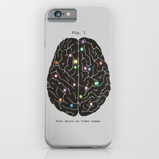 Your Brain On Video Games iPhone & iPod Case
