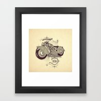 1936 Indian Framed Art Print