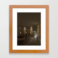 Serenity interrupted Framed Art Print