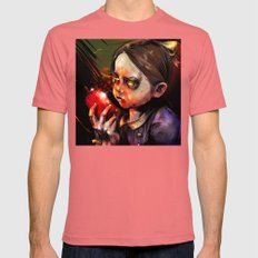 Little Sister Mens Fitted Tee Pomegranate SMALL