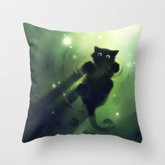 Marchin On Throw Pillow