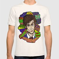 The 10th Doctor Mens Fitted Tee Natural SMALL